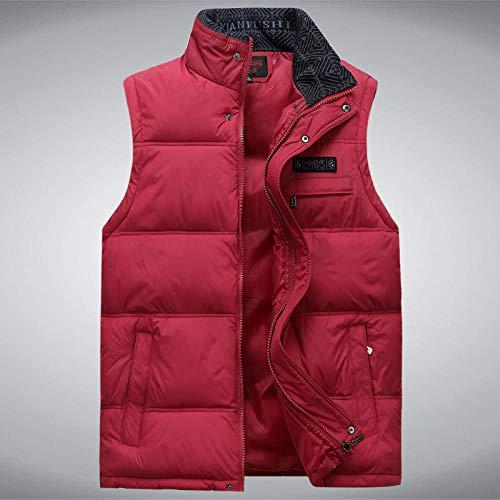 XFX1990 heren mouwloos vest heren wintercasual jas heren katoenen mantel heren warm vest fotograf heren vest plus maat 4XL