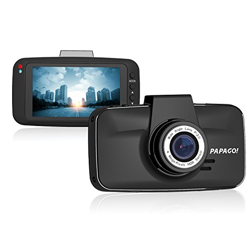 "PAPAGO Dash Camera for Cars GoSafe 520 Super HD 2304x1296 Dash Cam - Car DVR Dashboard Camera with Superior Night Vision, Parking Monitor, G-Sensor,3"" Screen GS520-US"