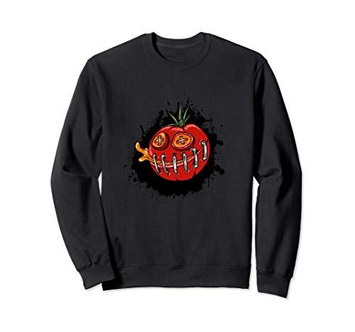 lustige Tomate für Gärtner aus dem Garten für Tomaten Fans Sweatshirt