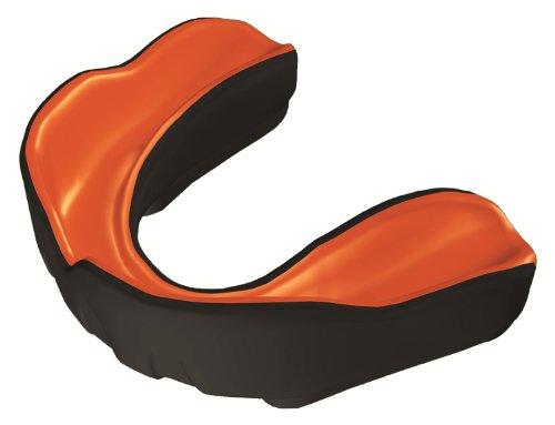 Makura Ignis Pro - Protector bucal negro negro/naranja Talla:Adult