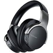 AUSDOM ANC8 Active Noise Cancelling Kopfhörer, Bluetooth Kopfhörer, Noise Cancelling Kopfhoerer mit Super HiFi, Faltbare, Komfortabler Ohrpolster, Integiertes Mikrofon, 20 Stunden Spielzeit