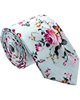 Floral Paisely Ties for Men - Cool Mens Neckties - Many Colors to Choose From (Turquoise)