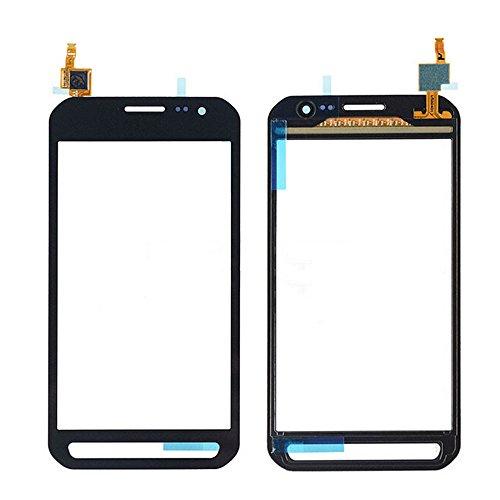 WeDone kompatibel mit Samsung Galaxy Xcover 3 G388F G388 Display Touchscreen Digitizer Glas(Ohne LCD) Ersatzteile + Klebeband & Werkzeuge (schwarz)
