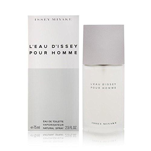 Issey Miyake L`Eau D`Issey pour homme, homme/ man, Eau De Toilette, 1er Pack, (1x 75 ml)