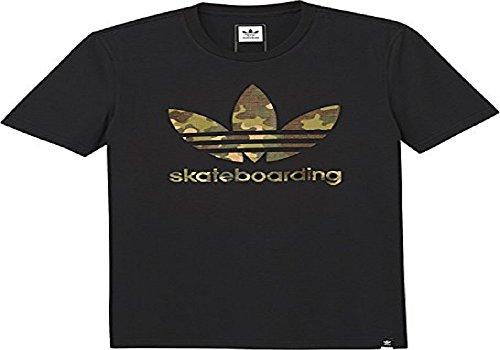 adidas Clima 3.0 - Camiseta de Skateboarding para Hombre, diseño de Camuflaje