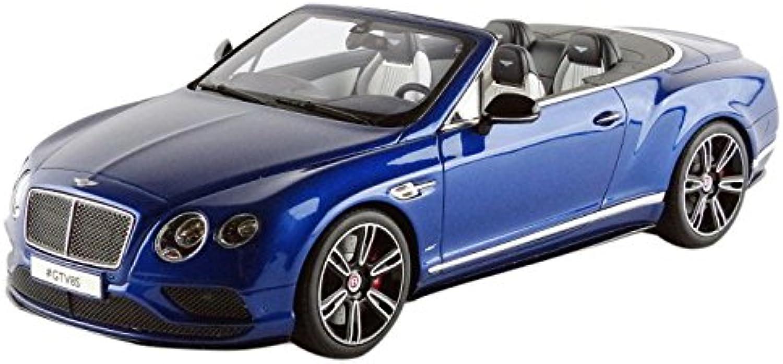 varios tamaños Gt Spirit gt076 Bentley Bentley Bentley Continental V8S Cabriolet 2015 Escala 1 18 Azul Metal  ¡No dudes! ¡Compra ahora!