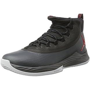 Customer reviews Nike Jordan Ultra Fly 2, Men's Basketball Shoes, Black (Black/University Red/Anthracite), 9 UK (44 EU):Hitspoker