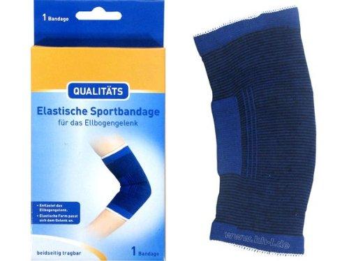 Qualitäts Ellenbogen Ellbogen Ellenbogengelenk Sportbandage Bandage elastisch, Gr. XL