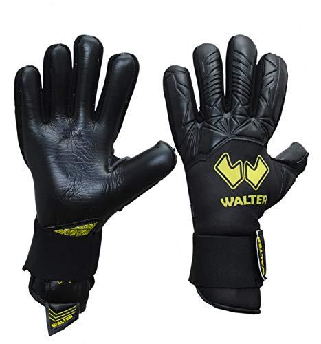 WALTER Guanti da Portiere Modello Fingers (5, Black-Yellow)