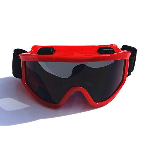 TYHDR Hombres Mujeres Esquí Snowboard Máscara Moto de nieve Gafas de esquí Gafas protectoras de motocross a prueba de viento Gafas de seguridad con filtro bucal