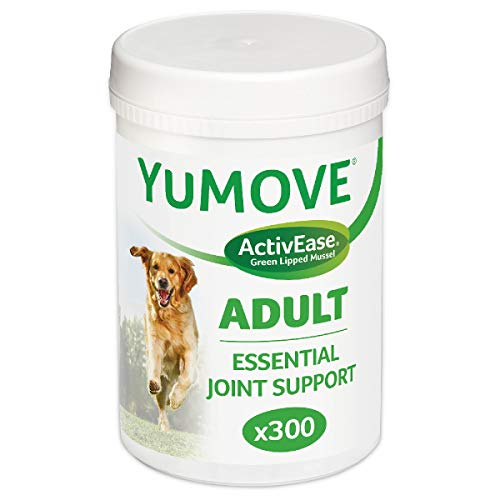 Lintbells Yumove Dog Essential Hip and Joint Supplement for Stiff Dogs Aged 7 to 8, 300 each