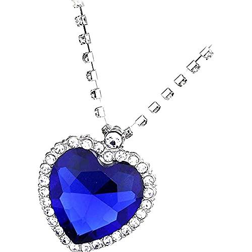 chaosong shop Jili Online - Colgante de cristal con forma de corazón de Titanic del océano, regalo de San Valentín