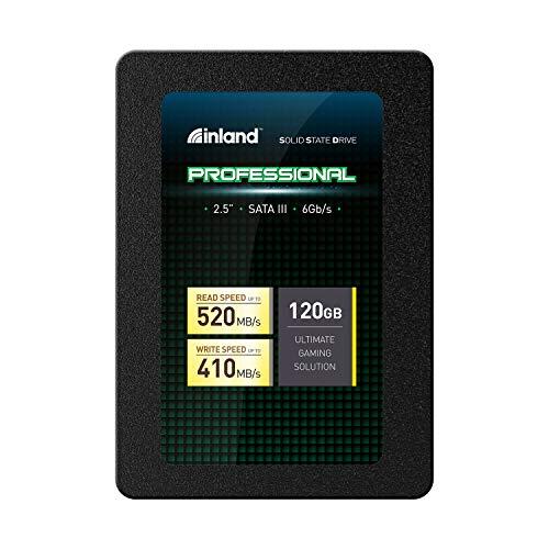 Inland Professional 120GB SSD 3D NAND SATA III 6Gb/s 2.5