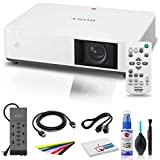 Sony VPL-PWZ10 5000-Lumen WXGA Laser 3LCD Projector with Mount + Power Strip + HDMI Cable + Cleaning Set + Wire Ties and More - Bundle