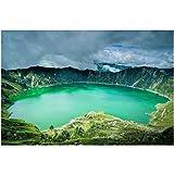 FGVB Ecuador Lagunen Ande Natur Landschaften Poster