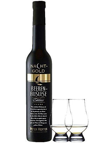 Peter Mertes Nachtgold Beerenauslese 0,375 Liter + 2 Glencairn Gläser