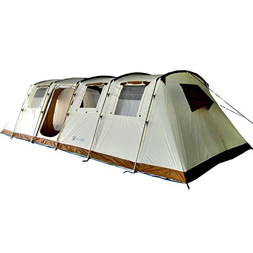 Skandika Casablanca 12 Personen XXL-Zelt mit eingenähtem Zeltboden