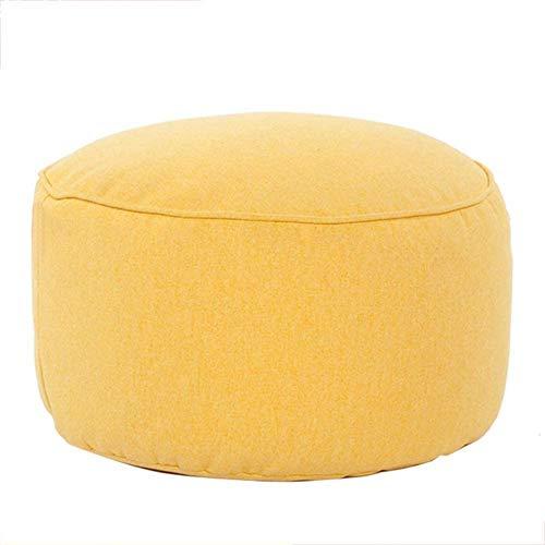 Taburete de pie sofá sofá otomano, pierna de pie Rest Step Taburete con cubierta extraíble Sofá de asiento Banco de zapatos Sofá Sofá de almacenamiento ( Color : 45x45x25cm(18x18x10) , Size : Yellow )