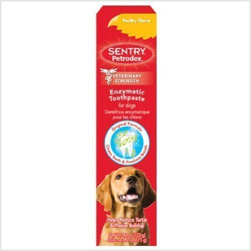 Petrodex Enzymatic Toothpaste Dog Poultry Flavor 62ounce Pack of 6