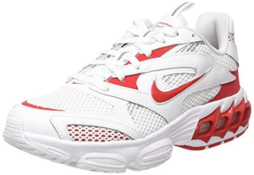 Nike Zoom Air Fire, Scarpe da Ginnastica Uomo, White/University Red/Metallic Silver, 44.5 EU