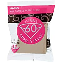 Hario VCF01100M Filtros de café desechables, Misarashi