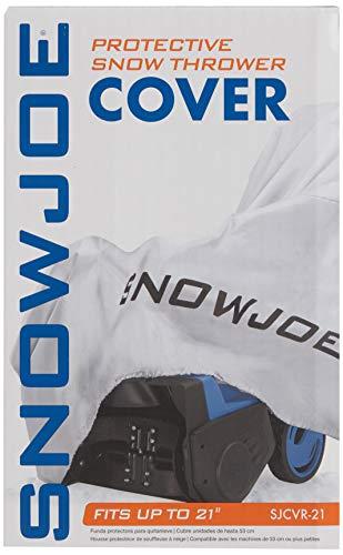Housse de protection pour souffleuse à neige électrique Snow Joe de 21po - 1
