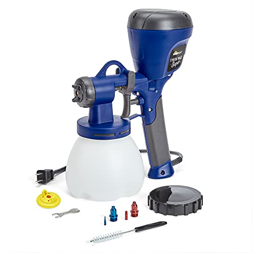 HomeRight C800971.A Super Finish Max HVLP Paint Sprayer, Spray Gun for Countless Painting Projects, 3 Superior Brass Spray Tips, 3 Spray Patterns