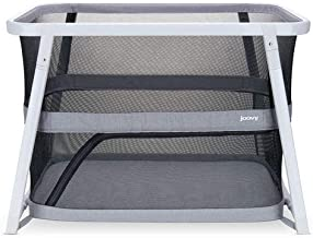 Best Joovy Coo Portable Bassinet, Portable Playpen, Rocks or Stay Put, Gray Review