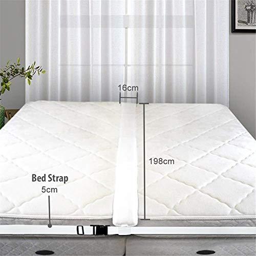 Kit Bridge Bed Twin Bed Connector Convertitore da Twin a King con cinghia per letto Converti facilmente i letti singoli in connettore per letto matrimoniale Connettore per materasso per gli ospiti