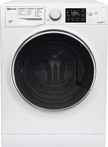 Bauknecht WM Steam 8 100 Waschmaschine Frontlader/A+++/1400 UpM/8 kg/langlebiger Motor/Antiflecken 100/Dampf-Option pflegt Wäsche hygienisch rein/EcoTech Mengenautomatik