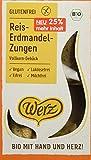 Werz Reis-Erdmandel-Zungen, Vollkorn-Gebäck, glfr, 2er pack (2 x 100g)