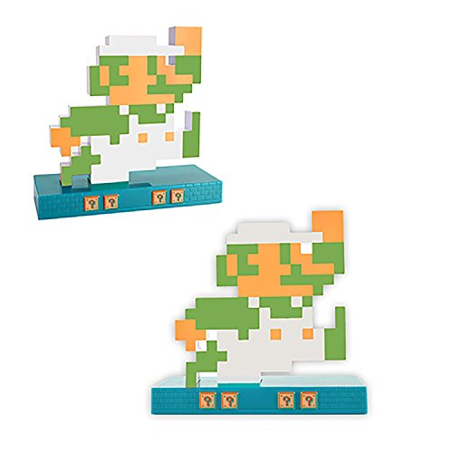 Wecker/Wanduhr, Retro, Design Nintendo, Super Mario Bros (Mario oder Luigi)