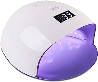 UV LED Nail Lamp, Vanshi 48W Nail Dryer with 24 LEDs, Sensor/Timer Setting, LCD Display, Nail Curing Lamp for All Manicure Gel Nail Polish, Home and Salon