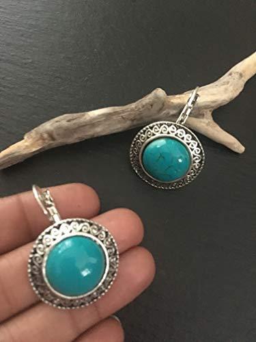 Silver drops Earrings,Indian jewellery, boho earrings,Mandela earrings, Afghani earrings, Bollywood Earrings, Ethnic earrings