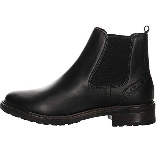 Giorgio Venuti Damen Chelsea Boots schwarz Gr. 41