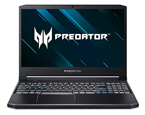 Predator Helios 300 (PH315-53-76BM) 39,6 cm (15,6 Zoll Full-HD IPS matt 120 Hz) Gaming Laptop (Intel Core i7-10750H, 8 GB RAM, 512 GB PCIe SSD, NVIDIA GeForce GTX 1650Ti, Win 10 Home) schwarz/blau