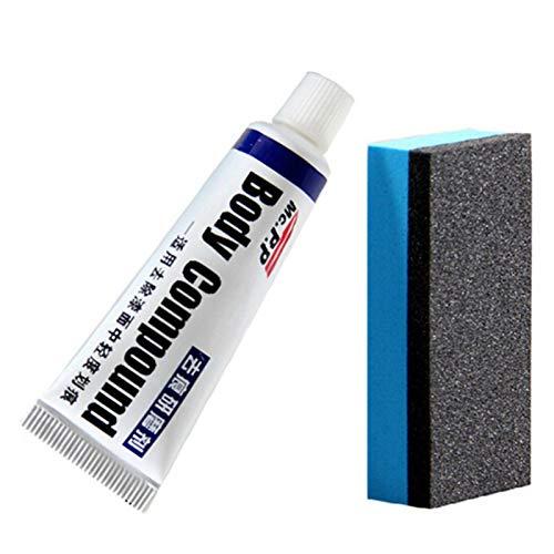 adfafw Autokratzerreparatur Schwamm Body Compound Creme Wachs Car Body Compound Kratzer Entferner Fahrzeug Paint Auto Paint Scratch Remover Kit (Universal).