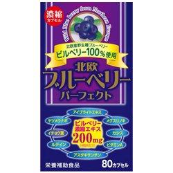 【ウエルネスジャパン】北欧ブルーベリー パーフェクト 80カプセル ×20個セット