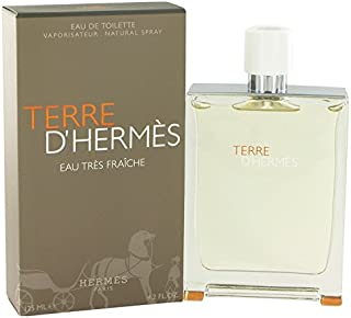 Hërmes Têrre D'hêrmes Cölogne For Men 4.2 oz Eau Tres Fraiche Eau De Toilette Spray + FREE Shower Gel