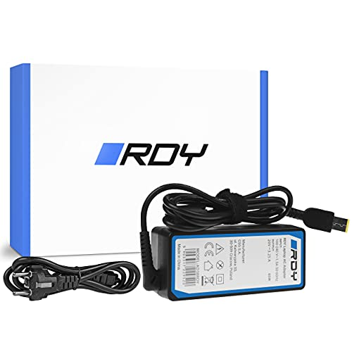 RDY 65W 20V 3.25A Cargador para Portátil LENOVO B50 G50 G50-30 G50-45 G50-70 G50-80 G500 G500s G505 G700 G710 Z50-70 Ordenador Fuente de Alimentación Computadora Portátil Adaptador Connector: Slim Tip