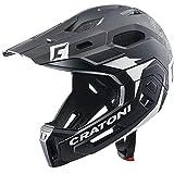 Cratoni C-Maniac 2.0 MX Downhill Freeride - Casco de bicicleta (protector de barbilla extraíble,...