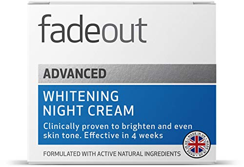 Fade Out Advanced Brightening Night Cream 50ml   Skincare Beauty with Niacinamide, Hyaluronic Acid, Lactic Acid, and Rosehip Seed Oil   Boost Skin Hydration and Radiance Overnight   Clinically Proven