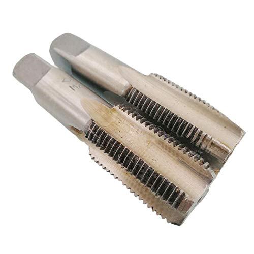HSS 24mm x 2 Metric Taper and Plug Tap Right Hand Thread M24 x 2mm Pitch