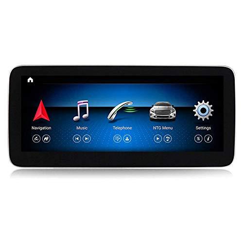 Android 10 Carro Radio GPS Navegación por Mercedes Benz Clase A W176/GLA X156/CLA C117 2013-2018 Carro Cabeza Unidad 12,5