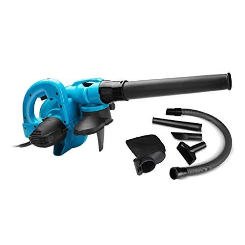 Yangangjin blazer met 6 versnellingen, 1800 W, super wind blazen en zuigen, geschikt voor huisdieren in de auto binnen en buiten, blauw, 1050 W