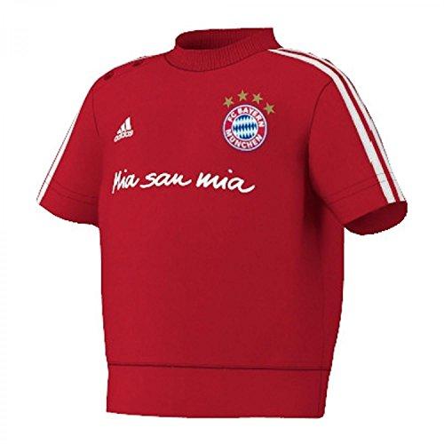 adidas Babyshirt T-Shirt FC Bayern München Co Inft Tee, Fcbtru/Wht, 62, G90246