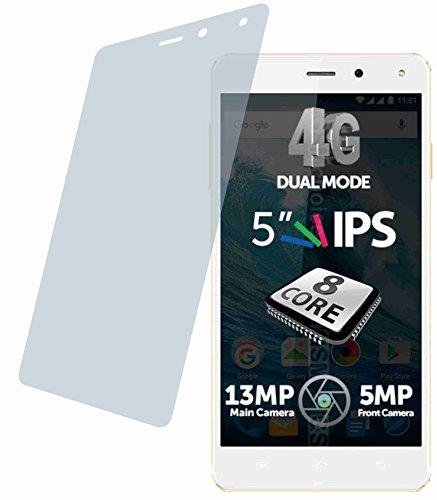 4ProTec I Allview E4 (4 Stück) Premium Bildschirmschutzfolie Displayschutzfolie ANTIREFLEX - Kratzfest UND PASSGENAU