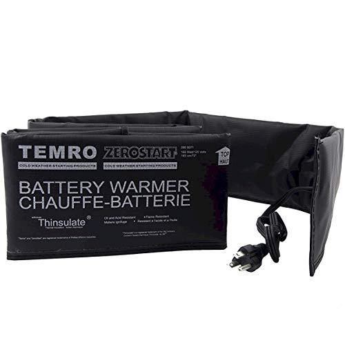 Zerostart 2800063 Electric Battery Blanket Battery Heater Wrap, 36-Inch | CSA Approved | 120 Volts | 80 Watts, Black