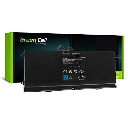 Green Cell® 0HTR7 OHTR7 Laptop Akku für Dell XPS 15z L511z P12F (Li-Polymer Zellen 3600mAh 14.8V Schwarz)