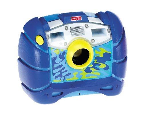 Fisher-Price - M8071 - Animaux - Appareil Photo Bleu - Waterproof